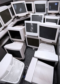 Computer monitor recycling is good for the planet