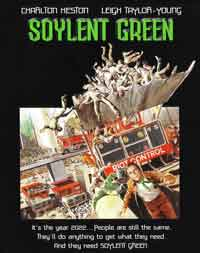 Soilent Green - still a powerful movie. Uhhh, I mean Soylent Green.
